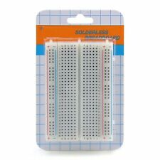 400 Points Mini Solderless Breadboard Protoboard PCB Test Board 83x55m 400 Holes