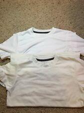 BCG 2 Lot Cool Tee Shirts White Size 8