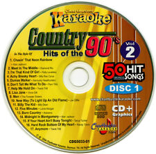 Karaoke cd+g Chartbuster 5033 Country Hits of The 90's vol-2 New In Case