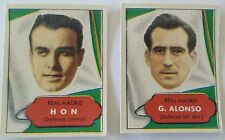 ASES DEL FUTBOL 1952-53  Editorial Bruguera REAL MADRID Stickers Soccer cards