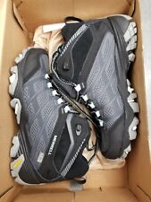 Merrell Womens MOAB FST Mid Waterproof Color: Granite Size: 5M  Style # J37146