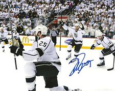 DUSTIN PENNER SIGNED 8X10 PHOTO LOS ANGELES KINGS DUCKS AUTOGRAPH