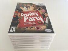 Disney Guilty Party (Nintendo Wii, 2010) WII NEW
