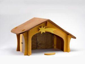 Nativity Stable with Star/Vogelbrett Ostheimer 3500 Stable Christmas