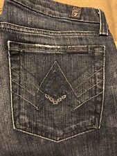"""7 For All Mankind Women's Bootcut """"A"""" Pocket Seven Jeans Size 27"""