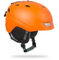 Lazer Effect All Mountain Bike/Snowboard Snow Helmet // Fluoro Orange // Medium