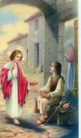 BEATITUDES - Laminated  Holy Cards.  QUANTITY 25 CARDS