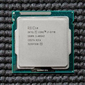 INTEL Core i7 3770 Quad Core @ 3.40Ghz CPU Processor Socket 1155