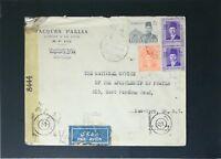 Egypt 1944 Censor Cover to USA - Z2870