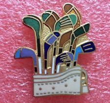 Pins SAC ET CLUB DE GOLF CADDIE sport Golf Golfeur Balle Tee