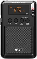 Brand New Eton Mini Compact Am/Fm/Shortwave Radio, Black, Ngwminib