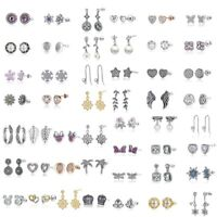 925 Silber PAN NEUE Ear Cuff Ohrringe Creolen Ohrstecker Ohrhänger Passend Charm