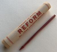 Vintage Eberhard Faber NOS Reform No. 526 Red 3.8mm Mechanical Pencil Lead USA