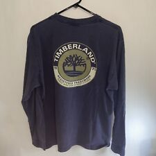 Vintage Timberland Shirt Adult Spell Out Long Sleeve Mens Large