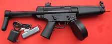 Auto Electric Airsoft Gun MP5 with a high Cap. 380 Round Drum Magazine