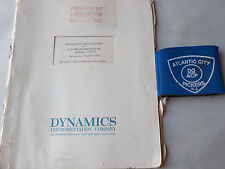 DYNAMICS 1362R  D-C MICROVOLTMETER OPERATING INSTRUCTIONS