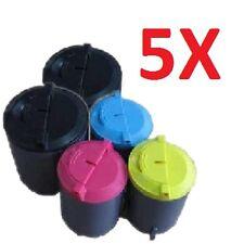 5 Toner für Samsung CLP300 N CLX3160FN CLX3160N CLX3160 CLX3130 CLX2160 mit chip