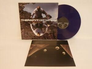10s Indie Rock THERAPY? brief crack of light UK Purple Vinyl LP + Inner Mint