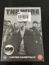 THE WIRE COMPLETE SERIES 1 DVD Box Set Season Brand New Sealed UK 1st First