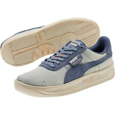 Puma California Mens size 12 Shoes Denim Dark Vintage Distressed Blue 369933-01