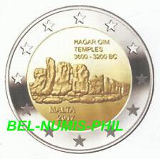 MALTA I 2017 - 2 euromunt - Prehistorische site van/de Hagar Qim - UNC