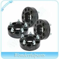 """4 pcs 1.5"""" thick 5x4.5 wheel spacers 1/2"""" studs for Ford Mustang Edge Ranger"""