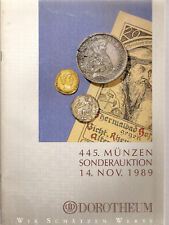 DOROTHEUM # 445 1989 ANCIENT AND WORLD COINS  ORDERS and MEDALS