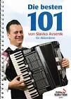 Akkordeon Noten : Slavko AVSENIK Die Besten 101 (OBERKRAINER) leMittel - mittel