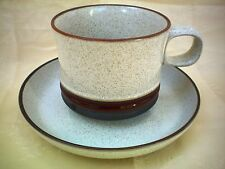 Denby Potters Wheel Tea Cup & Saucer Excellent Condition Several Available
