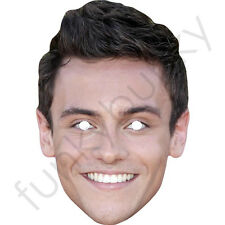 Tom Daley-Nadador-Olimpiadas Celebridad Máscara-todas nuestras máscaras son pre-corte!