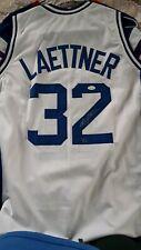 Christian Laettner  signed DUKE University Blue Devil basketball jersey with COA