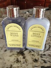 LAVENDER Body Wash & Lotion 4 oz New