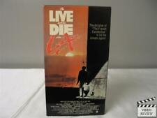 To Live And Die In L.A. VHS Dean Stockwell, Willem Dafoe ; William Friedkin