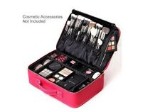 Professional Makeup Case Portable Makeup Artist Train Case NEW by ROWNYEON