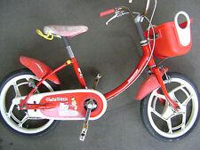 "used Bridgestone Hello Kitty childs bicycle 16x1.5"" wheels"