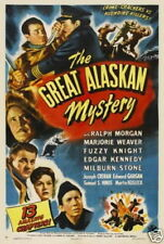 The Great Alaskan Mystery 1944 movie serial in case with artwork Free Shipping