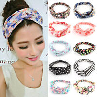 Fashion Women Girl Turban Twist Knot Head Wrap Headband Hair Band Headwear 1pc