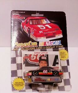 1991 RACING CHAMPIONS (#66) NASCAR CHAD LITTLE , new with collector card