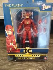 """DC Multiverse Signature Collection~~~The Flash 6"""" Action Figure~~~NIB"""