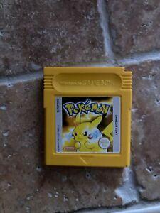 Pokemon Giallo e Rosso Gameboy Nintendo