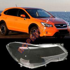 For Subaru XV 2012-2016 Right Side Headlight Cover Transparent PC + Glue Replace