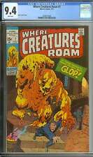 WHERE CREATURES ROAM #7 CGC 9.4 WHITE PAGES