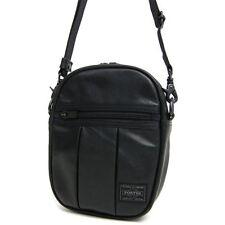 NEW YOSHIDA PORTER ALOOF SHOULDER BAG(S) 023-01081 Black tracking From Japan