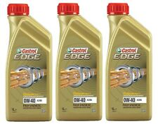 Castrol Edge 0w-40 FST A3/b4 Synthetic Engine Oil 0w40 1 Litre 1l