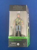 "Star Wars Black Series Princess Leia Endor Poncho 6"" Action Figure *IN STOCK"