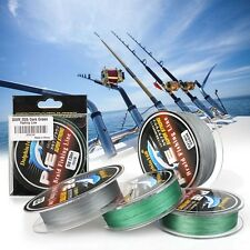 Professional Saltwater/Freshwater Fishing Line 8 20 50lbs, Durable, Us Seller