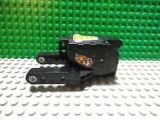 Lego 1 Black 5x10x5 wind up pull back motor motorcycle with stickers #4