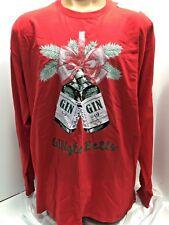 7e4fab119297a Gingle Bells print shirt pullover top Christmas jingle Gin ugly sweater 2xl