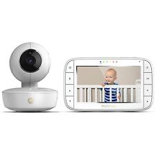 Motorola MBP36XL Video Baby Monitor + Portable Battery Camera, 5-Inch LCD Screen