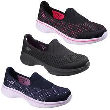 718cbec05515f From Skechers Girls' Go Walk 4-kindle Trainers Black (black Bbk) 4